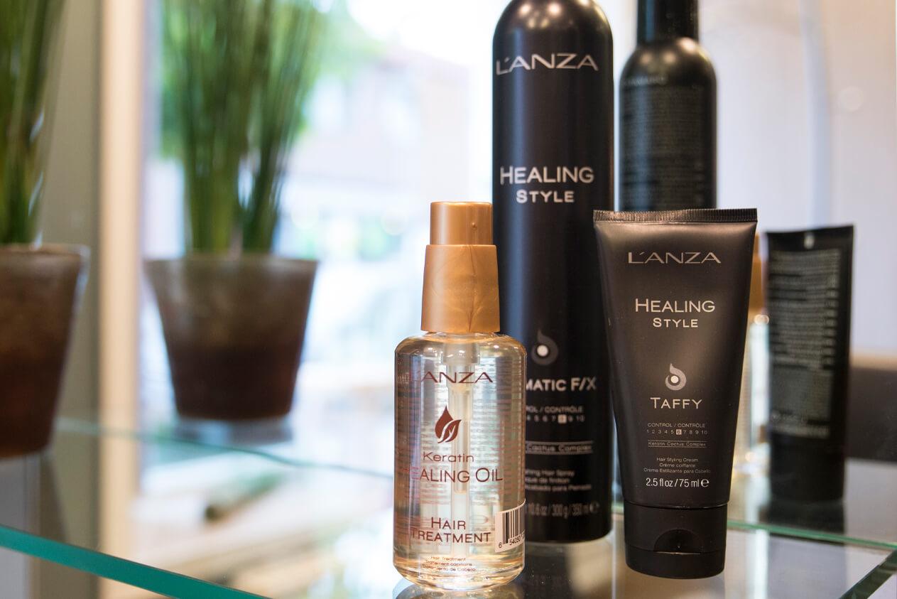 Lanza hårprodukter