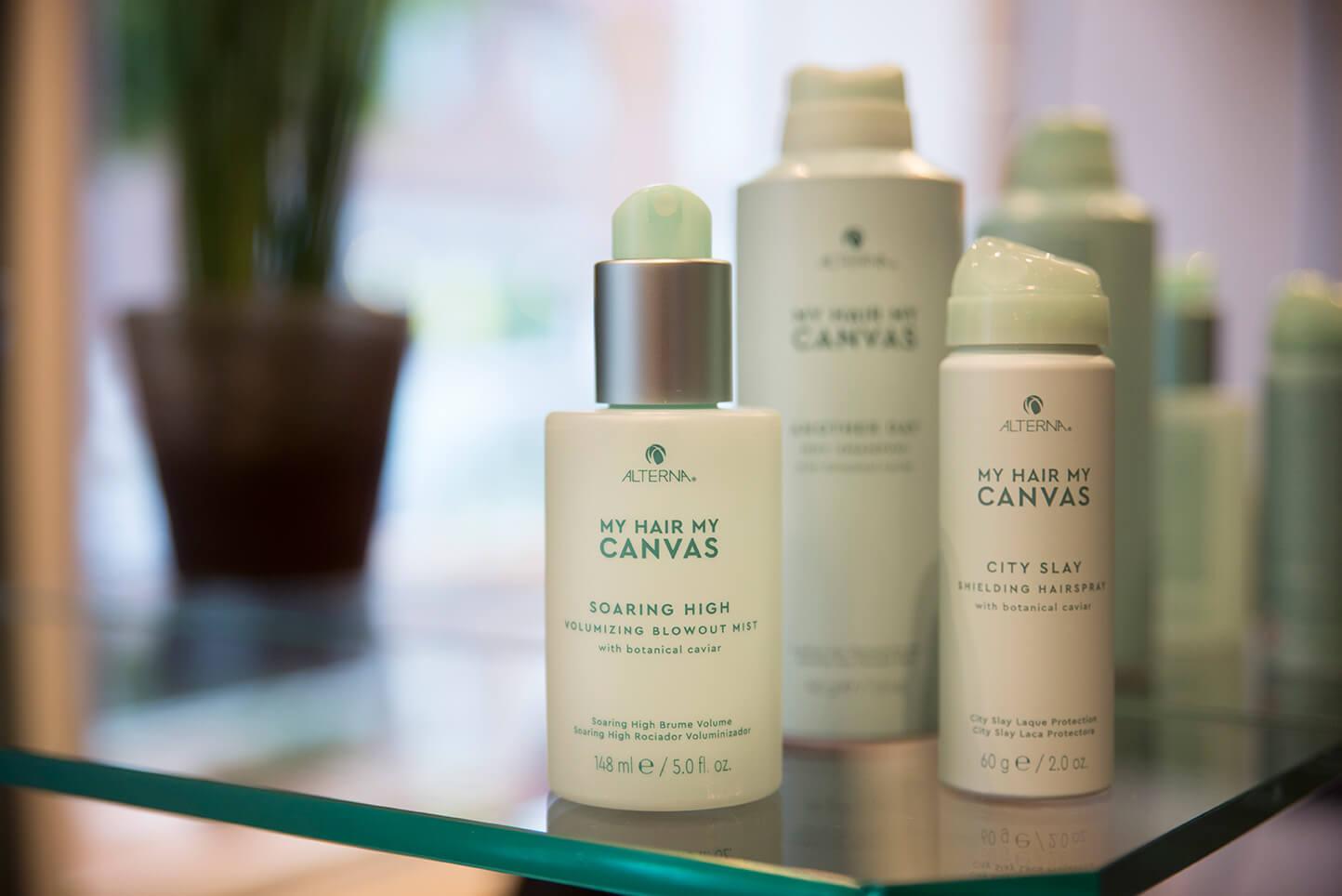 Alterna Canvas hårprodukter